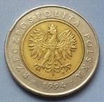 Польский злотый5р