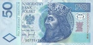 Польский злотый50а