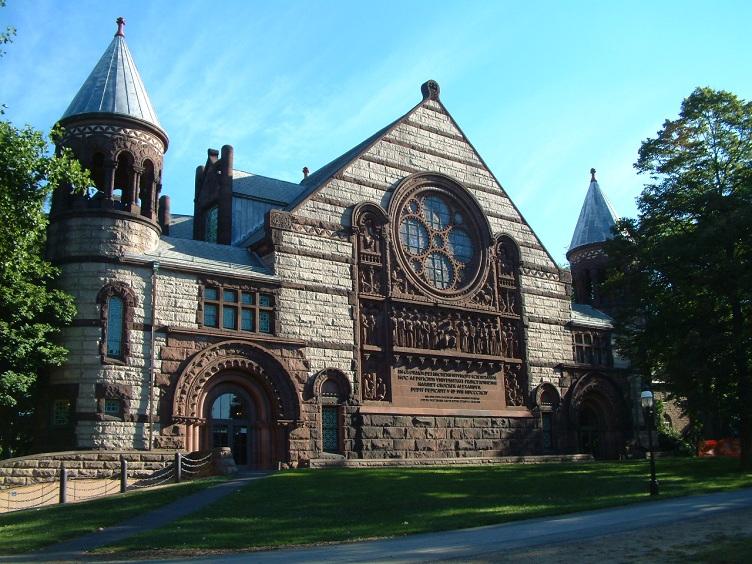 Принстонский университет - первый в США