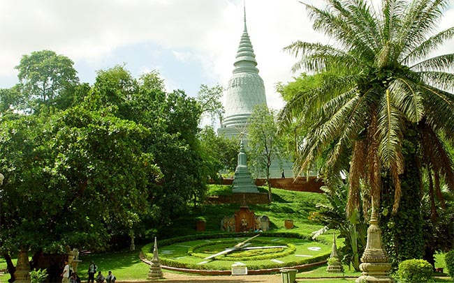 Работа в Камбодже 1
