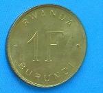 Руандийский франк 1а