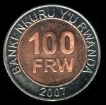 Руандийский франк 100а
