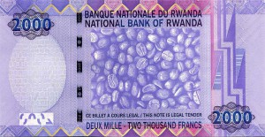 Руандийский франк 2000р
