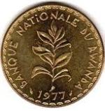 Руандийский франк 50р