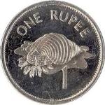 Сейшельская рупия 1а