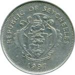 Сейшельская рупия 1р
