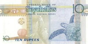 Сейшельская рупия 10р
