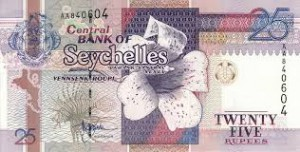 Сейшельская рупия 25а