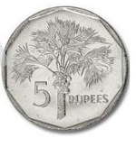 Сейшельская рупия 5а