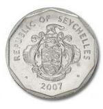 Сейшельская рупия 5р
