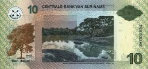 Суринамский доллар 10р