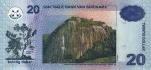 Суринамский доллар 20р