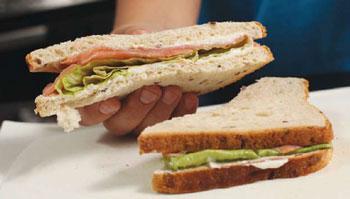 Сэндвич с собой