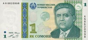 Таждикский сомони1а