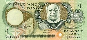 Тонганская паанга 1а