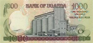Угандийский шиллинг 1000р