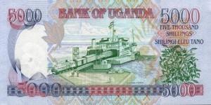 Угандийский шиллинг 5000р