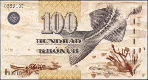 Фарерская крона 100а