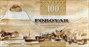 Фарерская крона 100р
