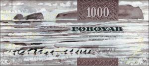 Фарерская крона 1000р