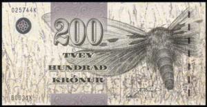 Фарерская крона 200а