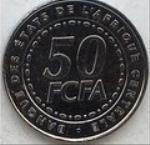 Франк КФА BCEAO 50а