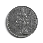 Французский тихоокеанский франк 2р