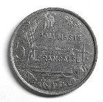 Французский тихоокеанский франк 5а