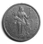 Французский тихоокеанский франк 5р