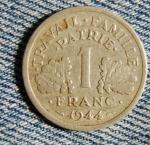 Французский франк 1а
