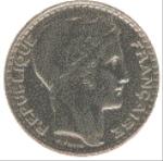 Французский франк 10р