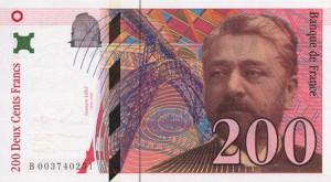 Французский франк 200а