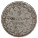 Французский франк 5а