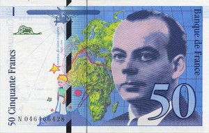 Французский франк 50а