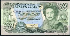Фунт Фолклендских островов 10а