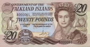 Фунт Фолклендских островов 20а
