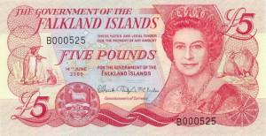 Фунт Фолклендских островов 5а