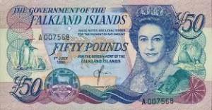 Фунт Фолклендских островов 50а