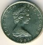 Фунт остров Мэн монета 1а