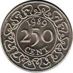 Цент Суринама 250а