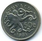 Цент Тувалу 50а