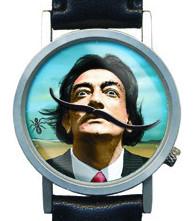 Часы-Сальвадор Дали