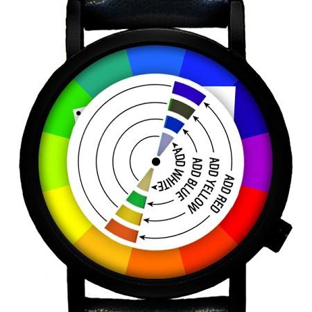 Часы-радуга