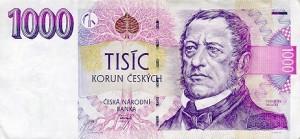 Чешская крона1000а