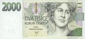 Чешская крона2000а