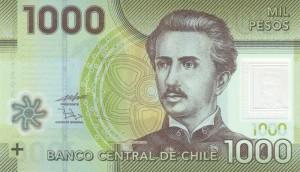 Чилийское песо1000а