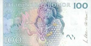 Шведская крона100р