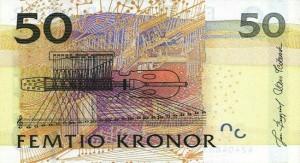 Шведская крона50р