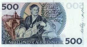 Шведская крона500а