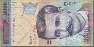 Эскудо Кабо Верде 2000а